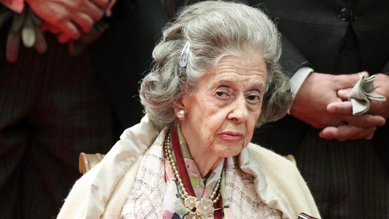 Belgijska królowa Fabiola