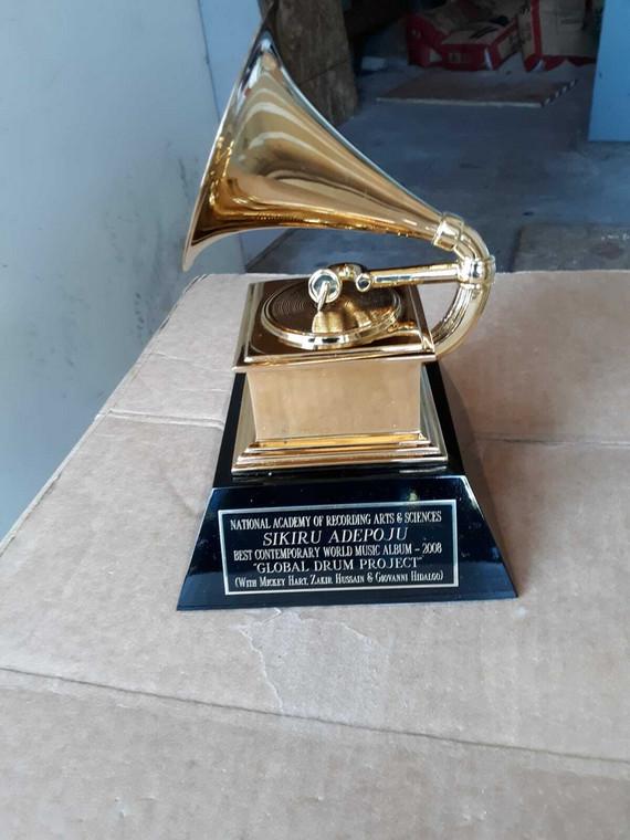Sikiru Adepoju: Nigeria's only Grammy Award-winner yet. [Pulse Nigeria)