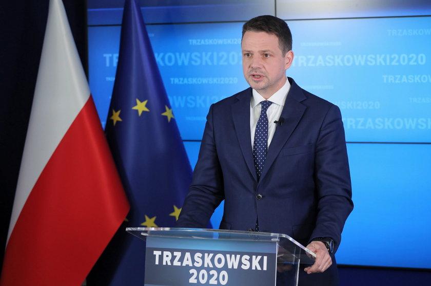 Rafał Trzaskowski ma dużo większe poparcie wśród kibiców niż urzędujący prezydent