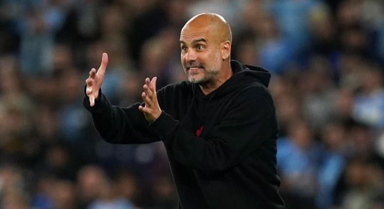 Pep Guardiola, Man City Coach.