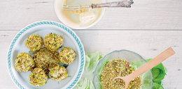 Kulki serowe z pistacjami
