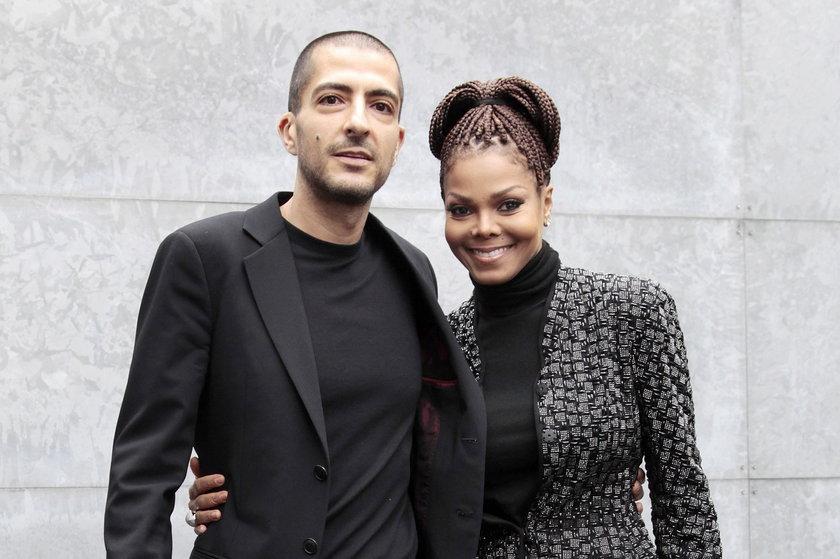 anet Jackson (piosenkarka) i Wissam Al Mana (katarski milioner)