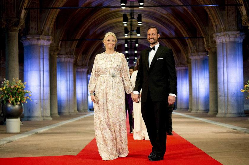 Książę Haakon i Mette-Marit