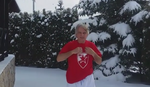 ČELIČIO SE NA BOGOJAVLJENJE Dule Savić uskočio u sneg: Ako može Putin, mogu i ja /VIDEO/