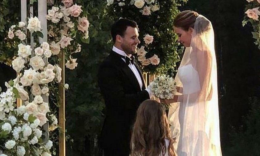 """On był z córką prezydenta, ona z """"królem wódki"""". Tak wyglądał ich ślub"""