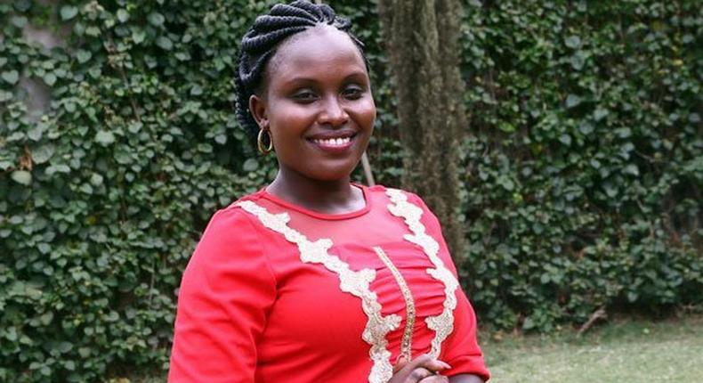 Ms Maurine Chebet when announced that she will not be John Mututho's running mate to unseat Nakuru Governor Kinuthia Mbugua on March 12, 2017.