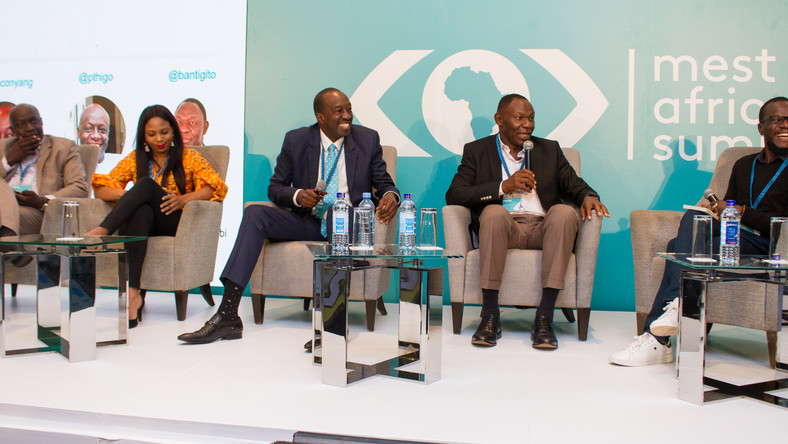 Panel discussion during the fourth MEST Africa Summit, in partnership with Microsoft.