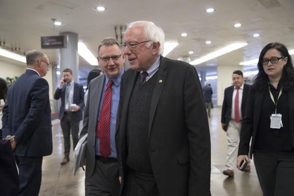 Najduži staž nezavisnog kandidata u istoriji Kongresa - Berni Sanders