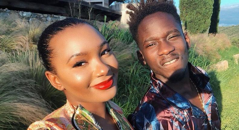 Mr Eazi and his girlfriend, Teni Otedola are presently in Míkonos, Greece for the summer and we can't get enough of their photos [Instagram/MrEazi]