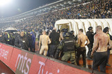 Derbi, incident