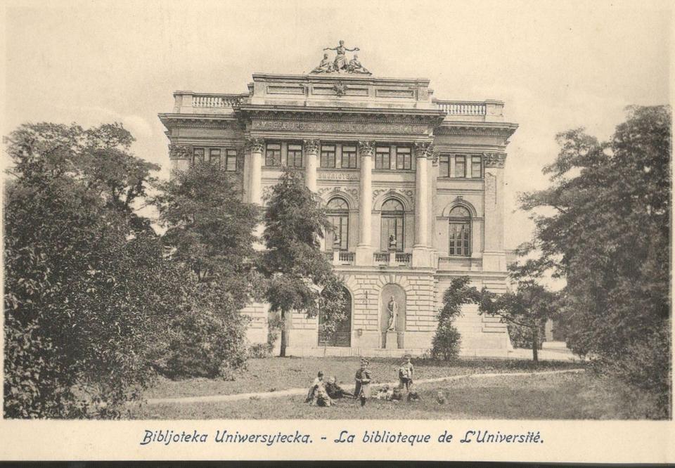 Biblioteka na terenie Uniwersytetu Warszawskiego