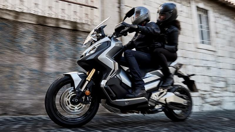 Honda X-ADV w akcji