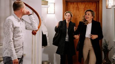 """""""Na Wspólnej"""" odcinek 3293. Zuza odegrała sięna Stasinie. Mężczyzna będzie w szoku!"""