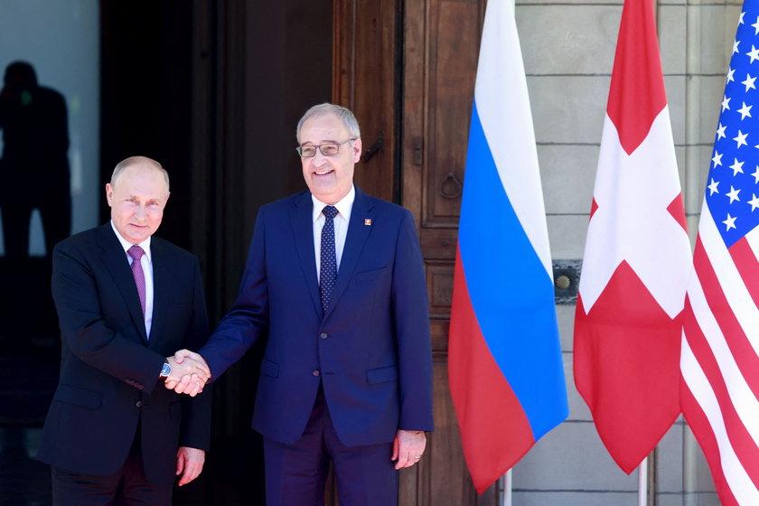 Szczyt Biden-Putin w Genewie