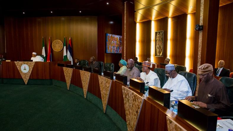 Image result for buhari's cabinet