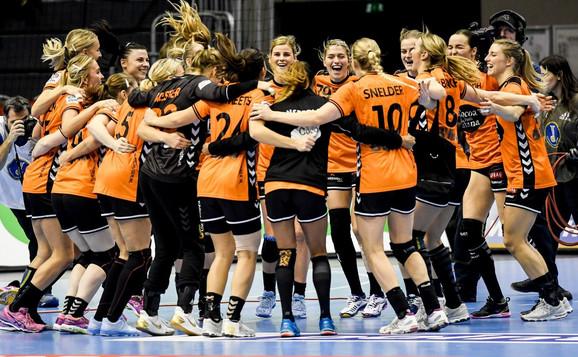 Slavlje Holanđanki posle plasmana u polufinale prvenstva sveta