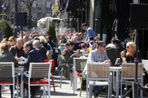 Krcati kafići u centru grada