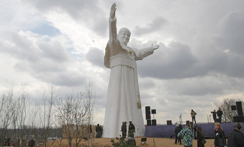 Odsłonięcie pomnika Papieża Jana Pawła II.