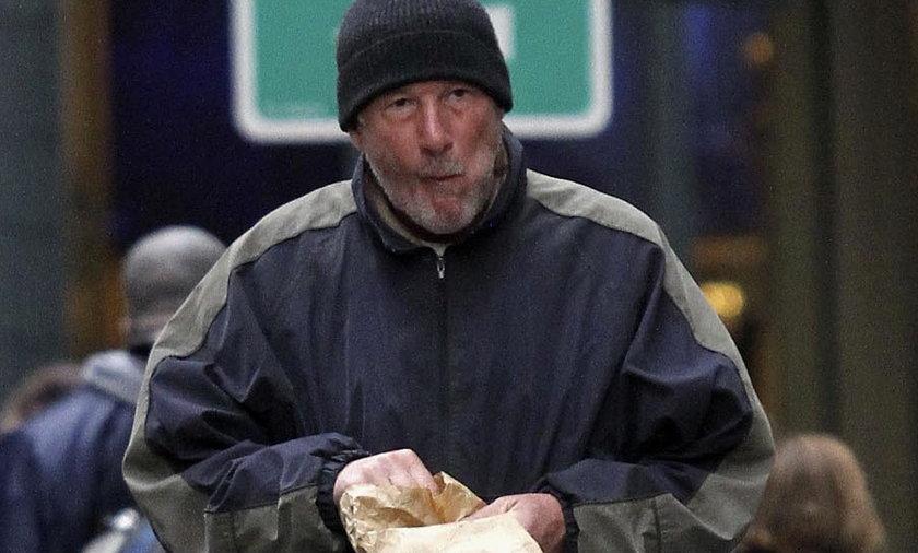 Richard Gere jako bezdomny