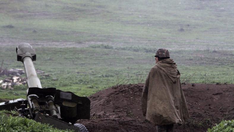 Pozycje wojsk Armenii