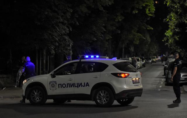 Policija odmah izašla na lice mesta i zatvorila ulicu