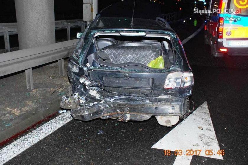 Cieszyn. Wypadek na drodze S52. Zginął 20-latek