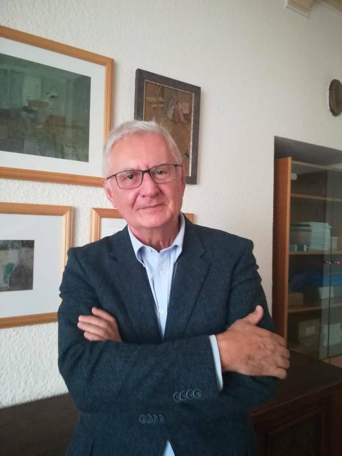 Akademik prof. dr Dragan Mićić, endokrinolog, jedan od autora i sagovornika u Vodiču