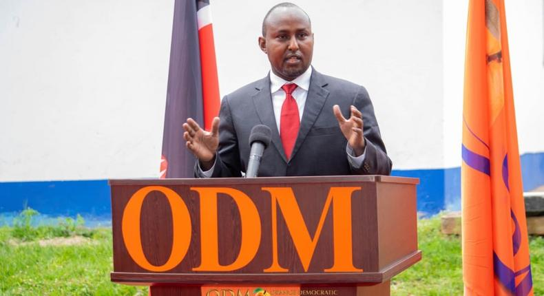 Suna East MP Junet Mohammed during a recent ODM function
