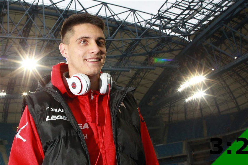 Bartosz Kapustka - sylwetka gracza Cracovii Kadra Polaków na Euro 2016