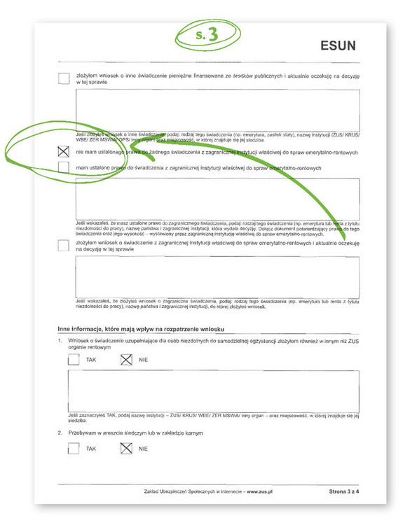 Jak wypełnić wniosek o 500 zł dla niepełnosprawnych s.3