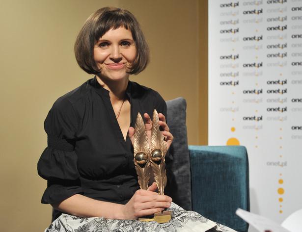 Małgorzata Łukowiak, laureatka nagrody Blog Roku 2009 fot. dzięki uprzejmości organizatora