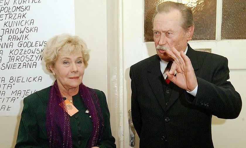 Teresa Lipowska, Emil Karewicz