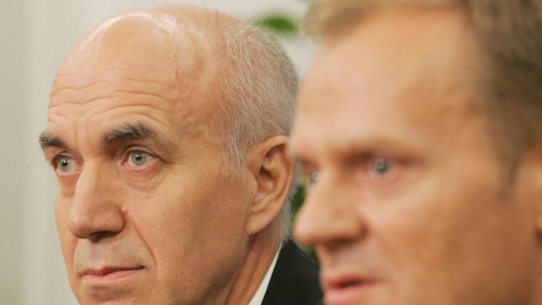 Poseł PO krytykuje premiera Tuska