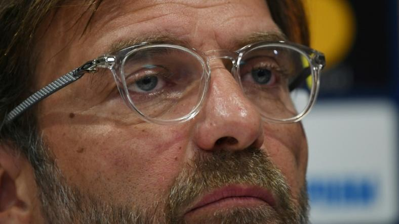 Liverpool manager Jurgen Klopp speaks to the press ahead of his side's Champions League quarter-final against Porto