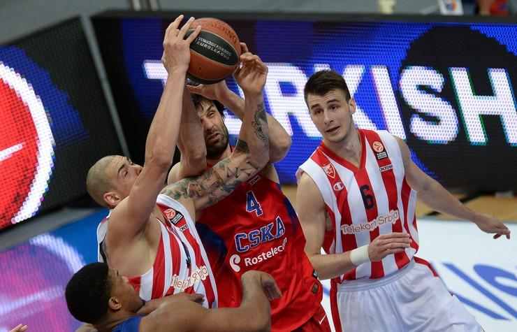 KK CSKA Moskva, KK Crvena zvezda