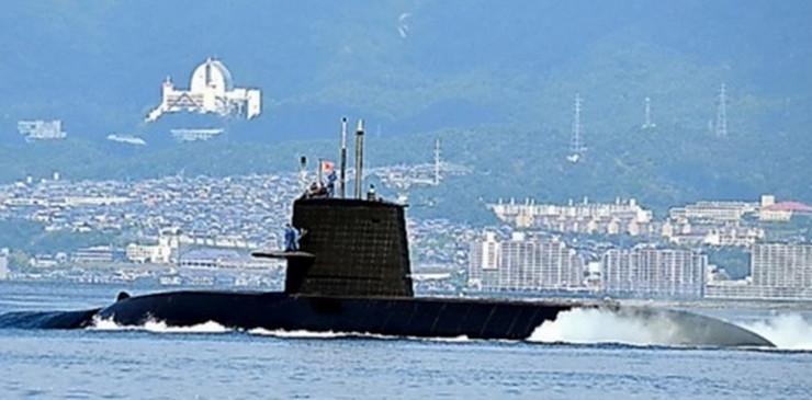 podmornica kurošio