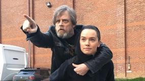 """""""Gwiezdne wojny"""": Mark Hamill i Daisy Ridley na wspólnym zdjęciu"""