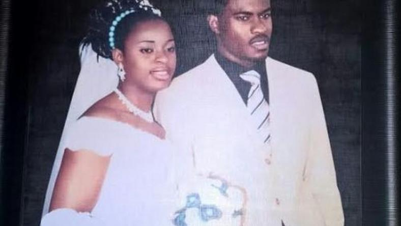 Vincent Enyeama and wife, Promise