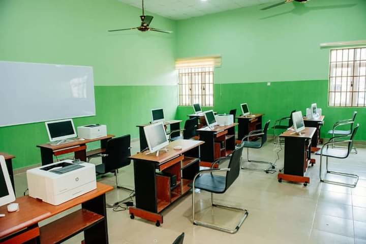 One of the skill acquisition centres commissioned by Governor Rotimi Akeredolu on Friday, October 2, 2020.