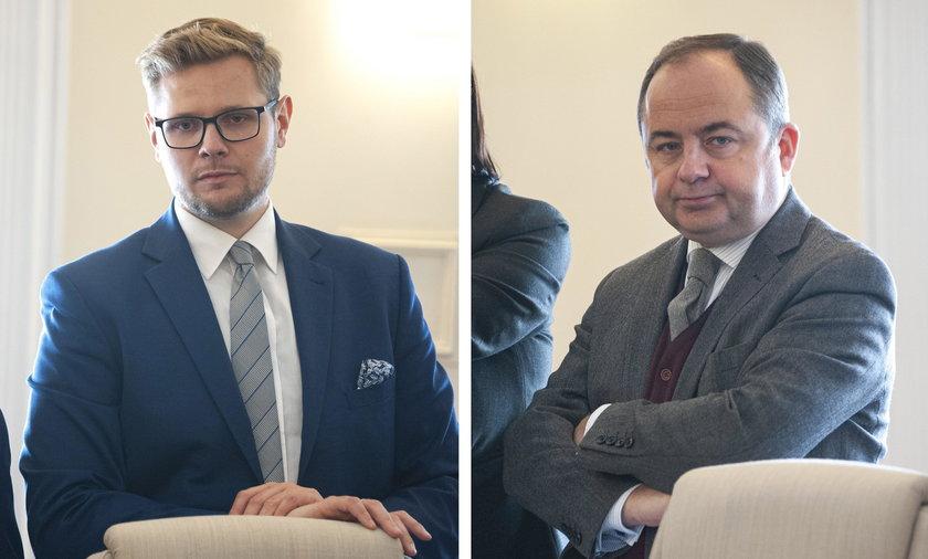 Rafał Woś i Konrad Szymański