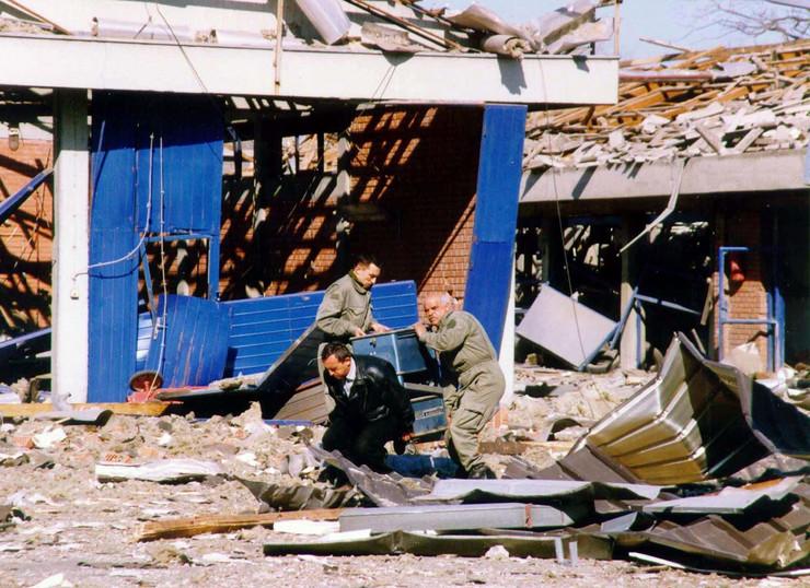 bombardovanje jugoslavije 1999