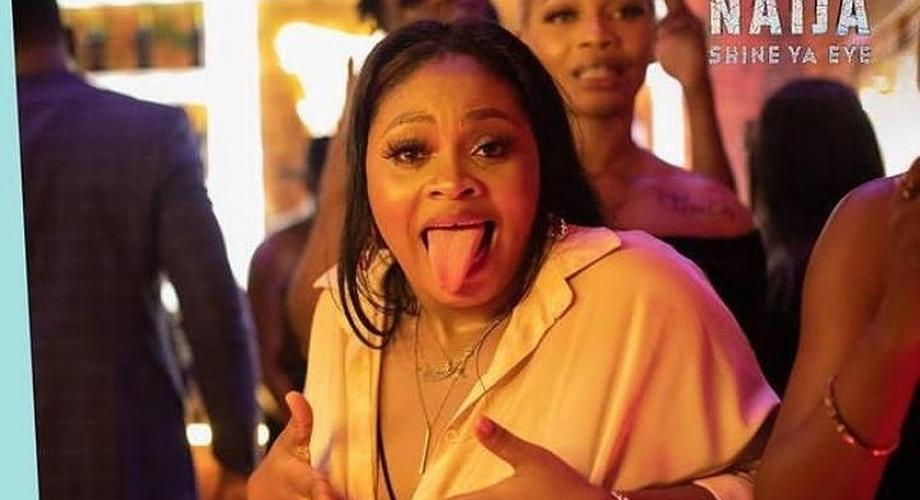 BBNaija 2021: Fans go wild as Tega lets Saga suck her boobs   Pulse Nigeria