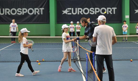 Mlade nade srpskog tenisa i Mats Vilander