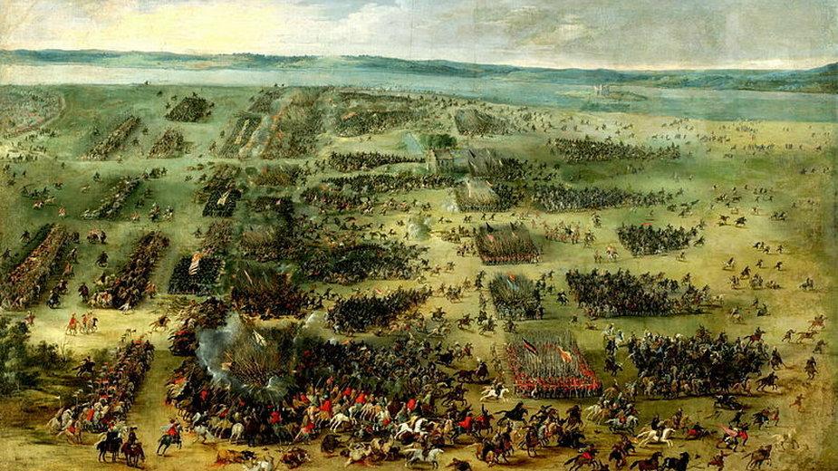 Bitwa pod Kircholmem w roku 1605 - domena publiczna