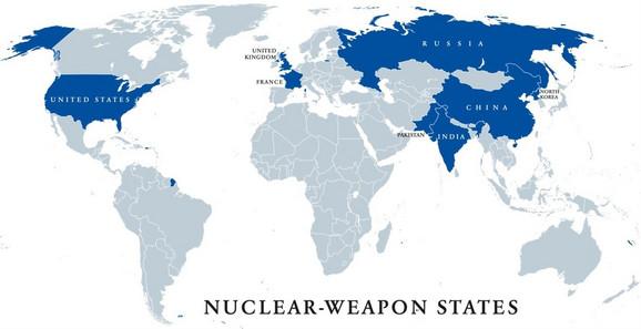 Države koje poseduju nuklearno oružje