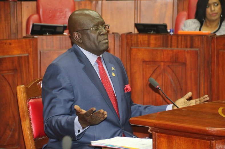 Education Cabinet Secretary George Magoha