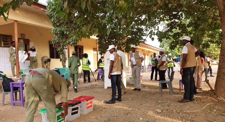 African Union Election Observation Mission observes opening, closing of polls and counting of votes in Nigerian Elections