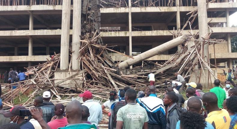 Nyamira's County Assembly Sh.379M building collapses