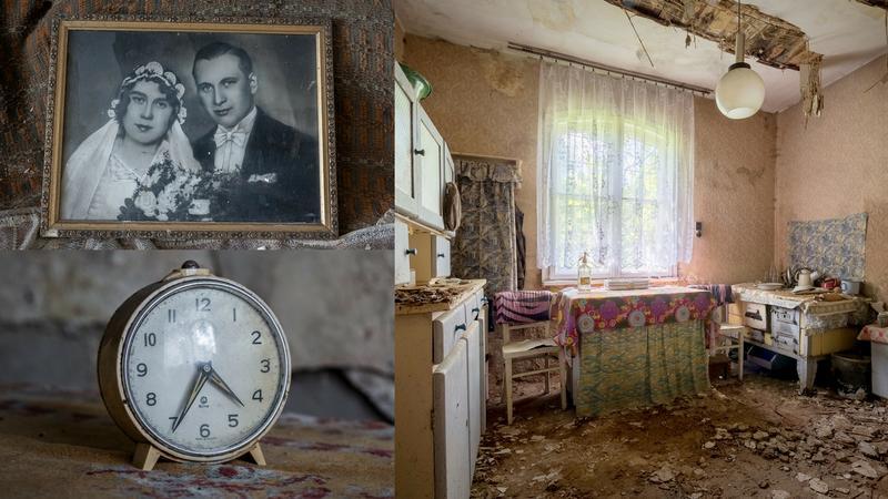 Opuszczona chata w powiecie jarocińskim