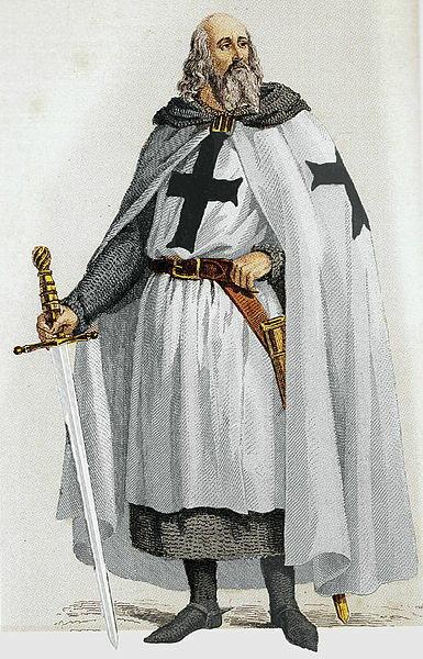 W marcu 1314 r. na stosie spłonął wielki mistrz Jaques de Molay - domena publiczna